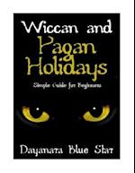 Wiccan and Pagan Holidays af Dayanara Blue Star