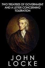 Two Treatises of Government and a Letter Concerning Toleration af John Locke