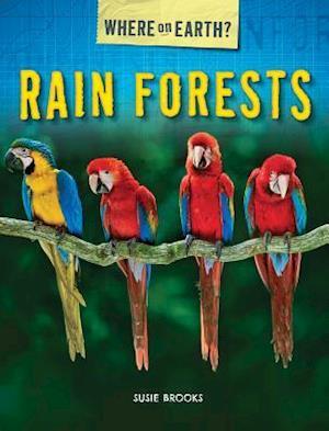 Bog, ukendt format Rain Forests af Susie Brooks