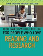 Cool Careers Without College for People Who Love Reading and Research (Cool Careers Without College)