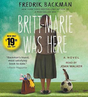 Lydbog, CD Britt-Marie Was Here af Fredrik Backman