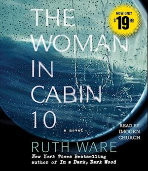 Lydbog, CD The Woman in Cabin 10 af Ruth Ware
