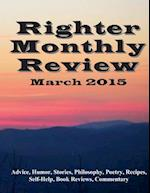 Righter Monthly Review - March 2015 af E. B. Alston