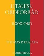 Litauisk Ordforrad af Thomas P. Koziara