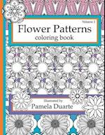 Flower Patterns Coloring Book, Volume1 af Pamela Duarte