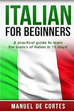 Italian for Beginners af Manuel De Cortes