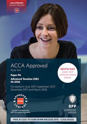 Bog, paperback ACCA P6 Advanced Taxation FA2016 af Bpp Learning Media