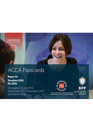 Bog, spiralryg ACCA F6 Taxation FA2016 af Bpp Learning Media