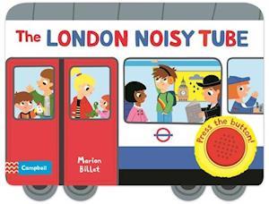 Bog, papbog The London Noisy Tube af Marion Billet