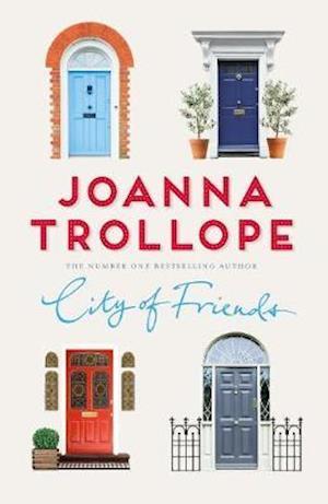 Bog, hardback City of Friends af Joanna Trollope