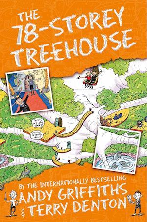 Bog, paperback The 78-Storey Treehouse af Andy Griffiths