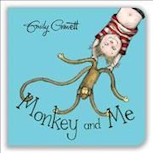 Bog, papbog Monkey and Me af Emily Gravett