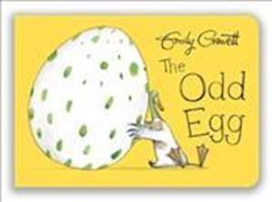 Bog, papbog The Odd Egg af Emily Gravett