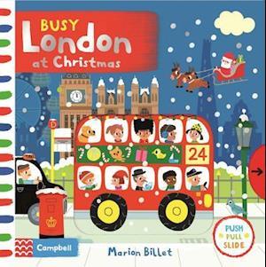 Bog, ukendt format Busy London at Christmas