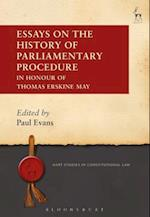 Essays on the History of Parliamentary Procedure (Hart Studies in Constitutional Law)