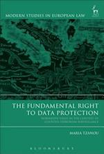 Fundamental Right to Data Protection af Maria Tzanou