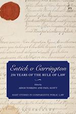 Entick v Carrington (Hart Studies in Comparative Public Law)