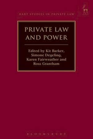 Bog, hardback Private Law and Power af Kit Barker