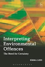 Interpreting Environmental Offences