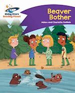 Reading Planet - Beaver Bother - Purple