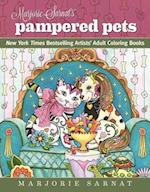 Marjorie Sarnat's Pampered Pets (Dynamic Adult Coloring Books)