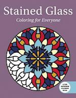 Stained Glass (Creative Stress Relieving Adult Coloring Book)