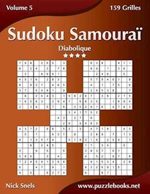 Sudoku Samourai - Diabolique - Volume 5 - 159 Grilles