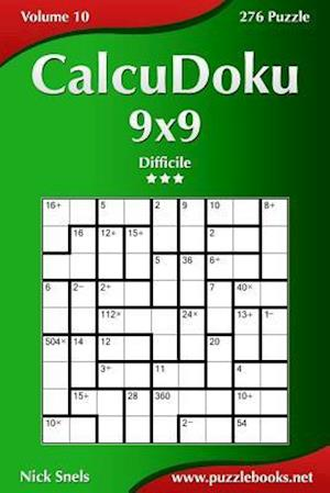 Calcudoku 9x9 - Difficile - Volume 10 - 276 Puzzle