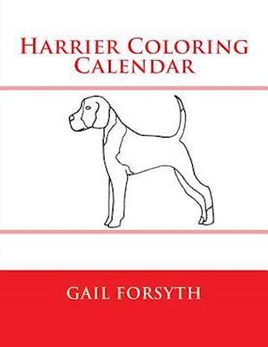 Harrier Coloring Calendar