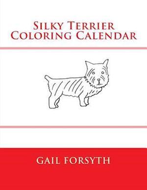 Silky Terrier Coloring Calendar