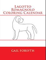 Lagotto Romagnolo Coloring Calendar af Gail Forsyth