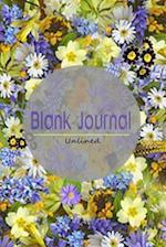 Blank Journal Unlined