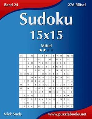 Sudoku 15x15 - Mittel - Band 24 - 276 Rätsel