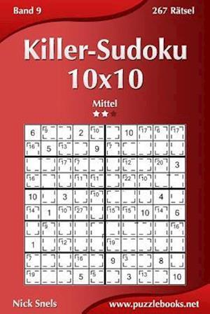 Killer-Sudoku 10x10 - Mittel - Band 9 - 267 Rätsel