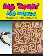 Big Brain Kid Mazes af Bowe Packer