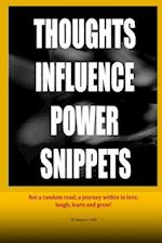 Thoughts Influence Power Snippets af TR Johnson