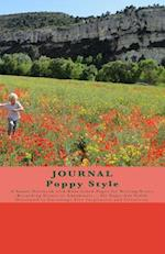 Journal Poppy Style