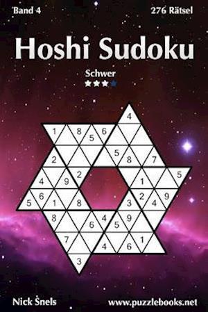 Hoshi Sudoku - Schwer - Band 4 - 276 Rätsel