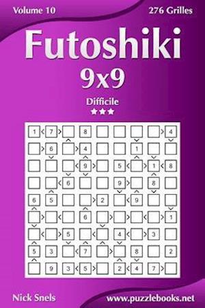 Futoshiki 9x9 - Difficile - Volume 10 - 276 Grilles