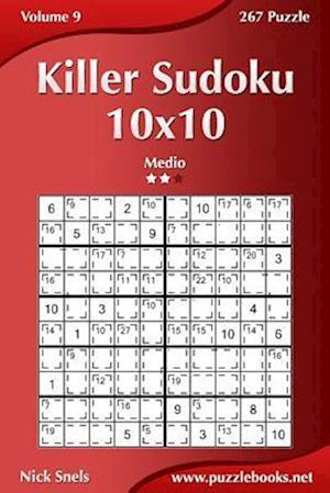 Killer Sudoku 10x10 - Medio - Volume 9 - 267 Puzzle