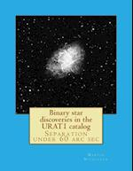 Binary Star Discoveries in the Urat1 Catalog