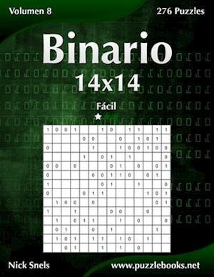 Binario 14x14 - Facil - Volumen 8 - 276 Puzzles