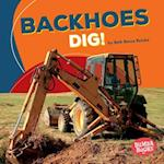 Backhoes Dig! (Bumba Books Construction Zone)
