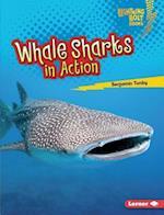 Whale Sharks in Action (Lightning Bolt Books Shark World)