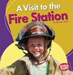 A Visit to the Fire Station (Bumba Books Places We Go)