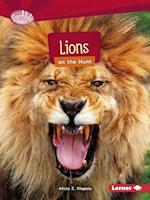 Lions on the Hunt (Searchlight Books)