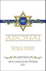 Adonai Spoken Words Grafted in