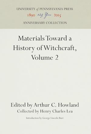 Bog, hardback Materials Toward a History of Witchcraft af Henry Charles Lea