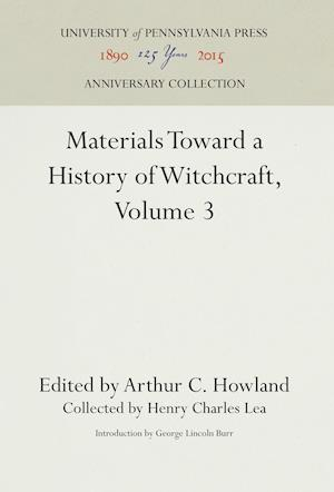 Bog, hardback Materials Toward a History of Witchcraft, Volume 3