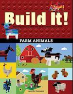 Build It! Farm Animals (Brick Books)